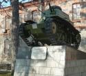 Танк МС-1 у штаба Восточного военного округа