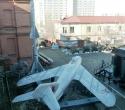 МиГ-17 и ракета ЗРК С-75