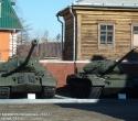 Танки ИС-3М и Т-54 обр. 1946 г.