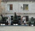 Танк МС-1 в музее ВВО. Гаубица Б-4 смотрится весьма внушительно на фоне МС-1.
