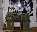 Станок у стенда, посвящённого деятельности оборонной промышленности в годы войны