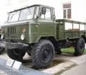 Экспозиция автотехники. Автомобиль ГаЗ-66