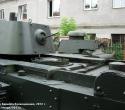 Танк БТ-7. Вид на МТО и кормовую часть башни