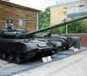Танк Т-80БВ и БМП-1