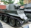 Лёгкий танк БТ-7. Наружная экспозиция музея ВВО