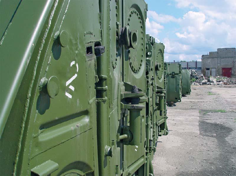 Фрагмент понтона ПП-2005