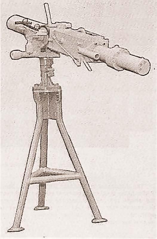 60-мм миномет Mk.4 mod.0 на универсальной тумбе Mk.26