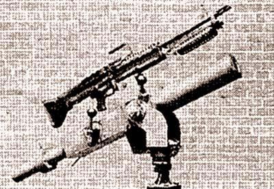 60-мм миномет Mk.4 mod.0 с пулеметом M60