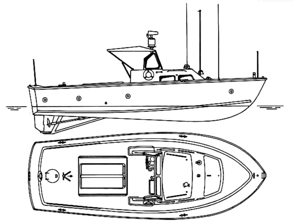 Быстроходный катер LCPL Mk 4