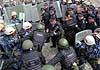 Спецназ «Гепард» отработал действия по освобождению заложников в рамках учений по пресечению массовых беспорядков (фоторепортаж)