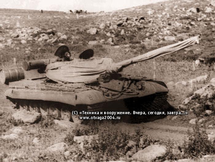 Испытания в горной местности в июле – августе 1973 г. Район г. Ахалкалаки