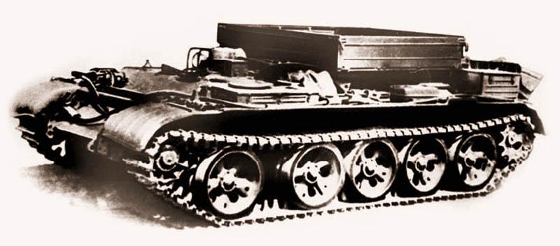 Бронетягач-эвакуатор БТС-2