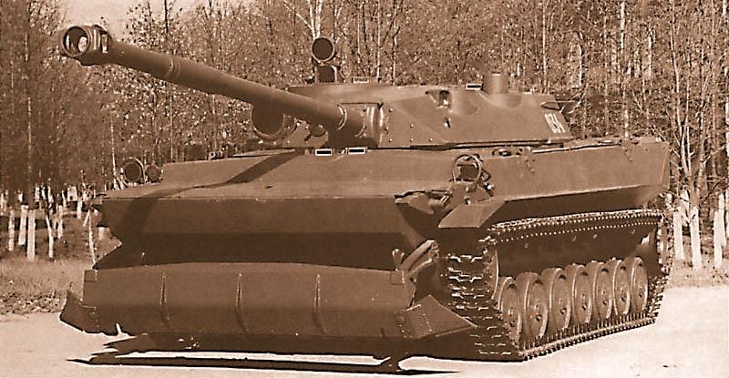 Опытный легкий танк «объект 934»