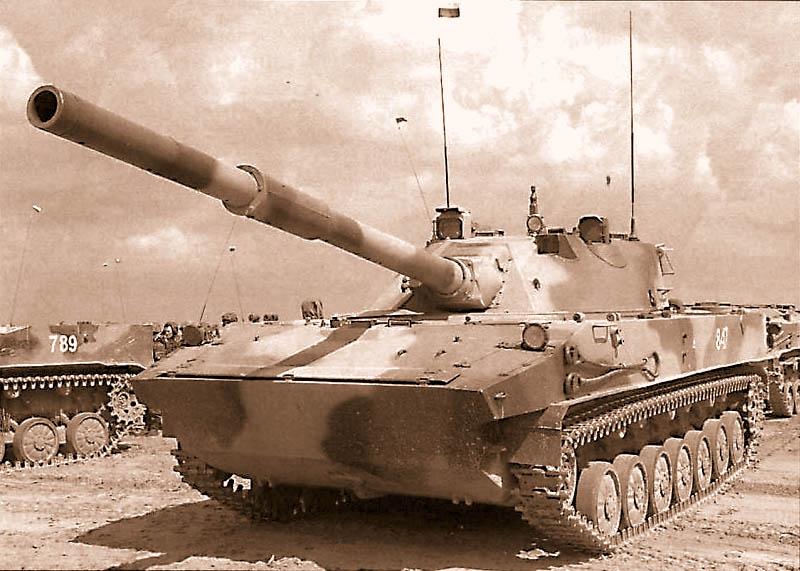 125-мм самоходная противотанковая пушка СПТП 2С25 «Спрут-СД»