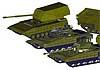 За 20 лет до «Арматы»: танк Т-95 должен был стать базой для целого семейства военной техники