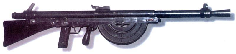Французский ручной пулемет Шоша