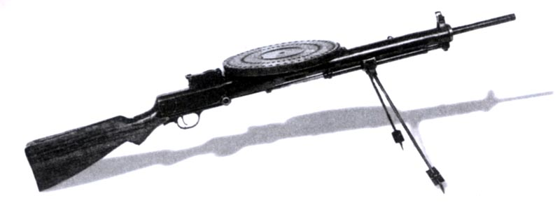 7,62-мм ручной пехотный пулемет системы Дегтярева образца 1927 г. (ДП-27)