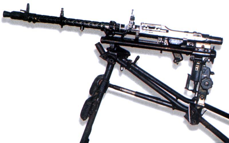 Германский единый пулемет MG-34