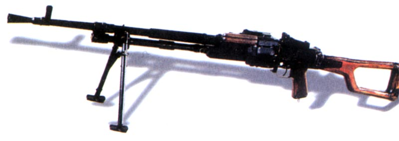 Пулемет Никитина, опытный образец