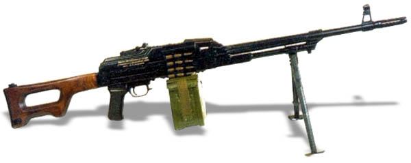 Единый пулемет Калашникова ПКМ