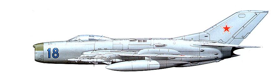МиГ-19ПМ советских ВВС