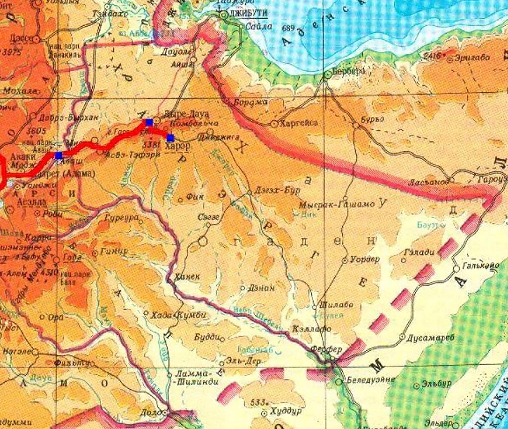 Театр военных действий на Африканском роге
