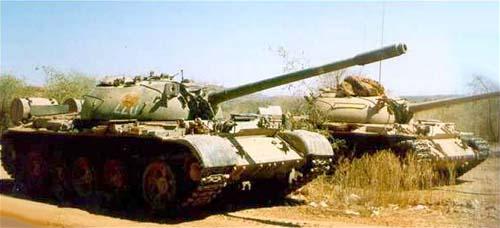 Эфиопские Т-55