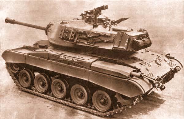 Танк М41 американского производства