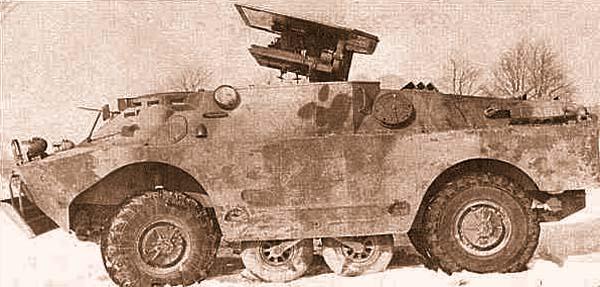 Боевая машина 9П133 с ПТУР «Малютка»