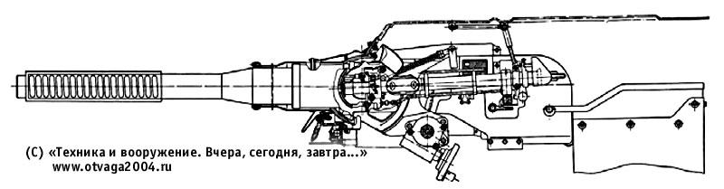 76,2-мм нарезная танковая пушка Д-56Т