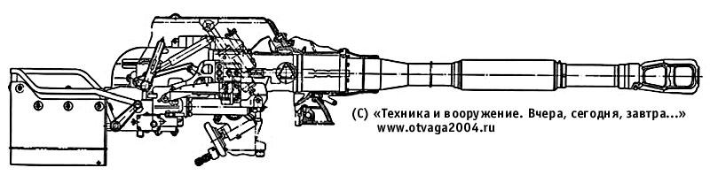 76,2-мм нарезная танковая пушка Д-56ТС