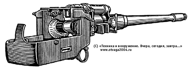 100-мм нарезная танковая пушка Д-10ТГ