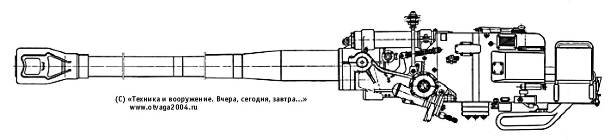 122-мм нарезная танковая пушка Д-25ТА