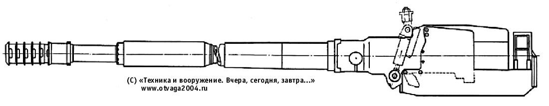 130-мм нарезная танковая пушка М-65
