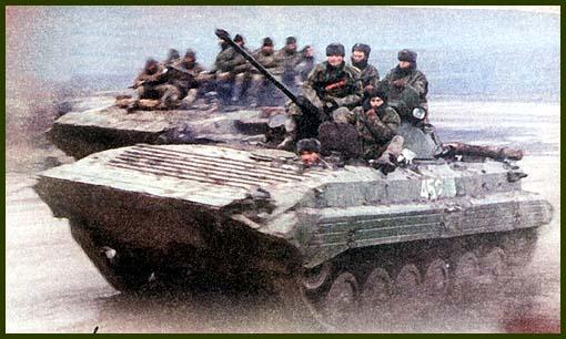 БМП-2 – основное средство поддержки пехоты в бою. Вполне удачная машина оказалась неприспособленной для ведения войны в городских условиях.