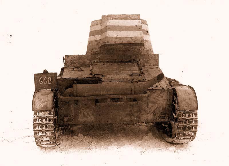 Танк «Виккерс» Мк Е. мод.F выпуска 1939 года Финской армии