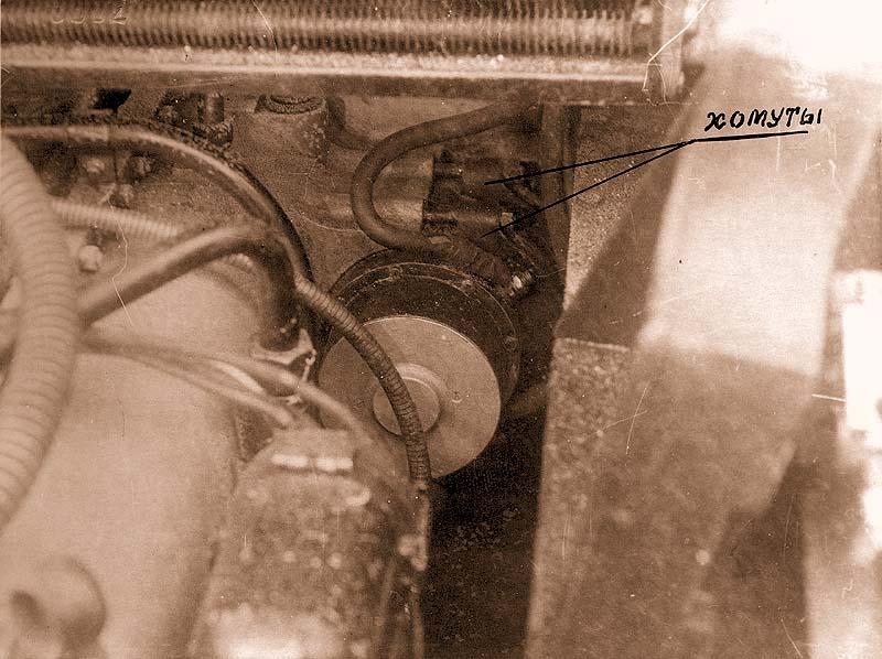 Крепление стартера к двигателю
