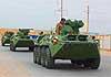 Морская пехота вооруженных сил Казахстана получила 30 БТР-82