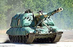 152-мм самоходная артиллерийская установка 2С19М1 «Мста-С» на стрельбах и на полосе препятствий (ГАЛЕРЕЯ)