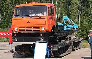 Транспортер-снегоболотоход ТС-К (ГАЛЕРЕЯ)