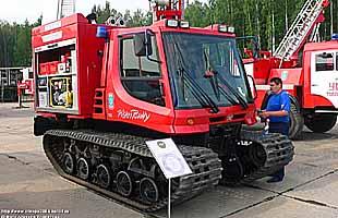 Вездеходная пожарная машина Magirus-IVECO Fire-FLEX