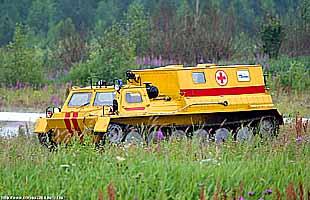 Гусеничный вездеход ГАЗ-340394 (ГАЛЕРЕЯ)