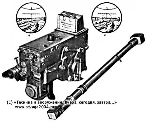 Танковый оптический прицел-дальномер ТПД-43 (ТПД-43Б)