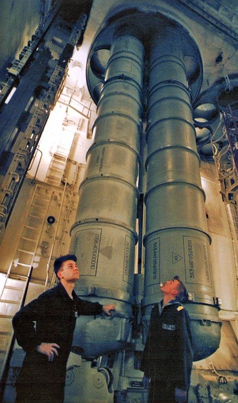"""Пусковые установки ЗРК """"Форт"""" на атомном ракетном крейсере проекта 1144"""