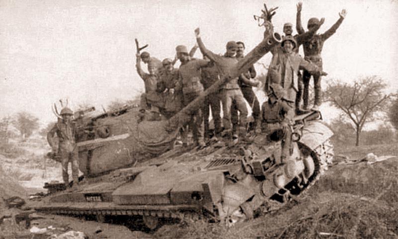 Эти пакистанские «Паттоны» были подбиты индусами позднее – во время вооруженного конфликта 1971 г.