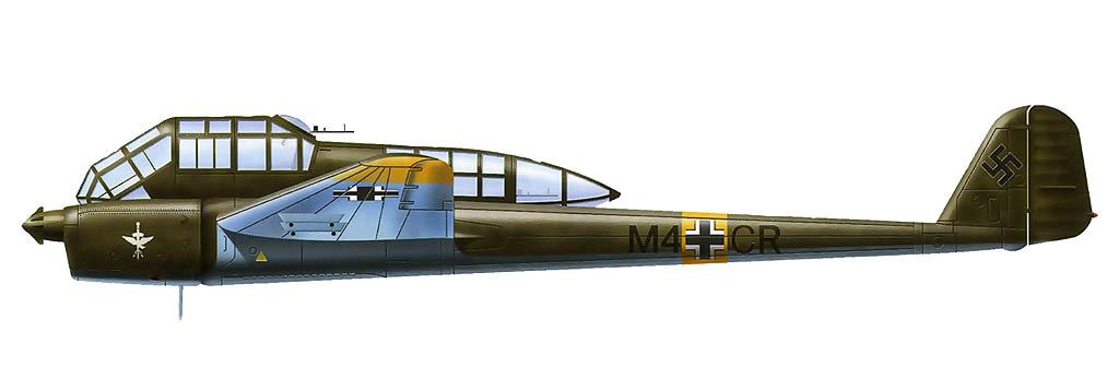 Fw189 из 7.(H)/132. Таранен 18.09.42 г. капитаном С.М. Мухиным из 62-го иап ВВС Черноморского флота