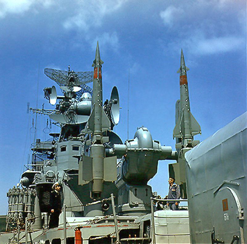ЗРК М-1 «Волна» на большом противолодочном корабле проекта 61