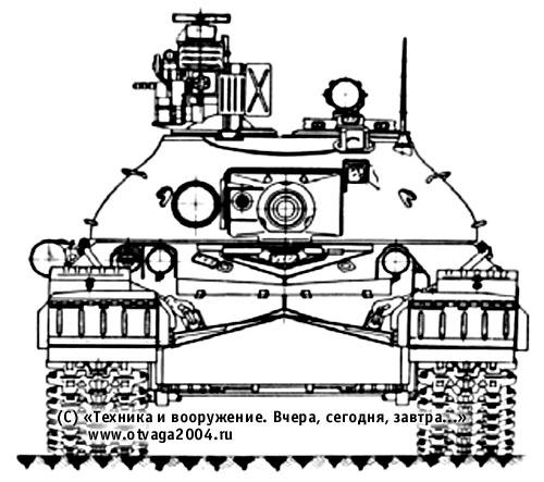 Установка комплекса активной противоракетной защиты «Оплот-МО» на танке Т-10М