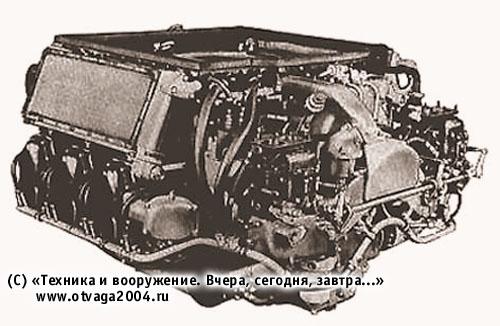 Карбюраторный двигатель AOS-895 (США)