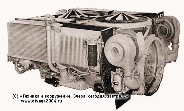 Многотопливный двигатель AVCR-1100-3 (США)
